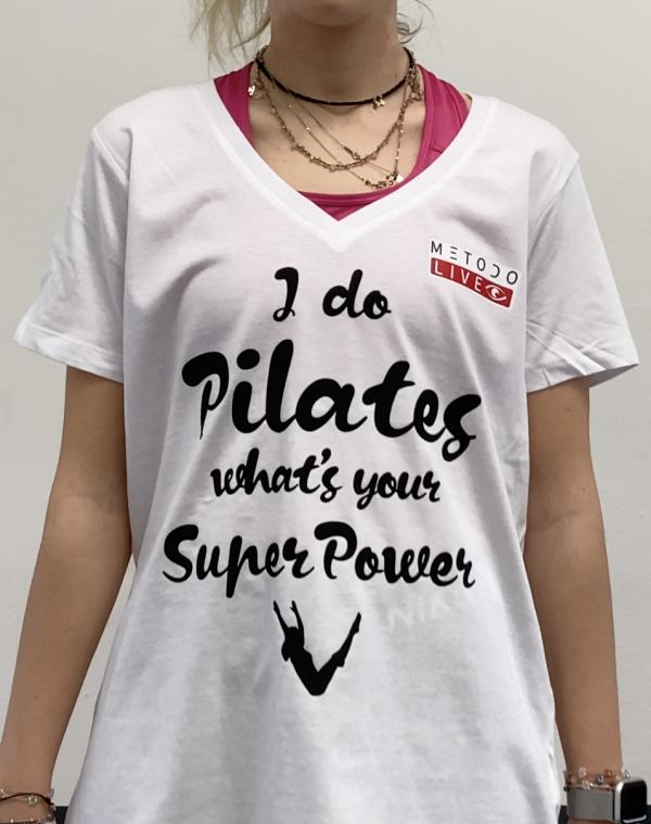 T-Shirt Pilates Donna